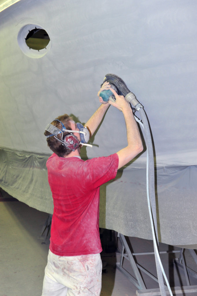 Onderhoud & schadeherstel - Pullen Jachtschilders
